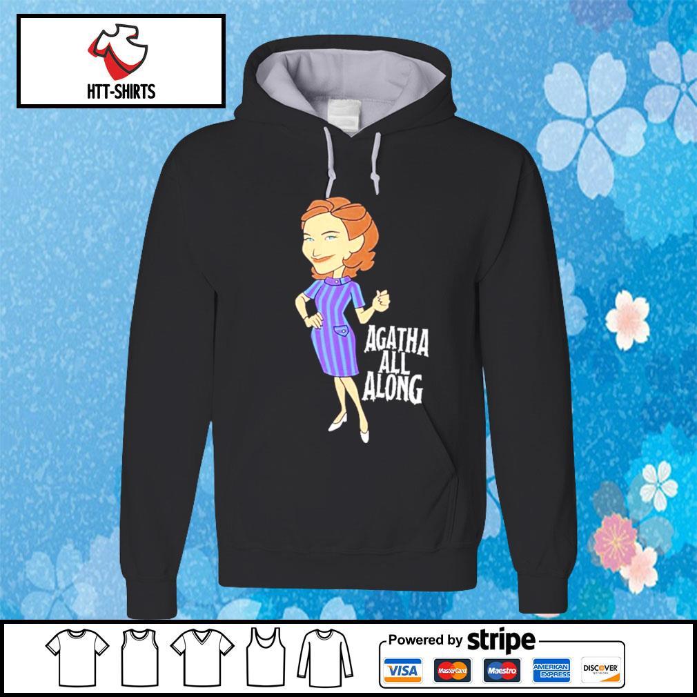 WandaVision Agatha All Along Retro Portrait Shirt hoodie