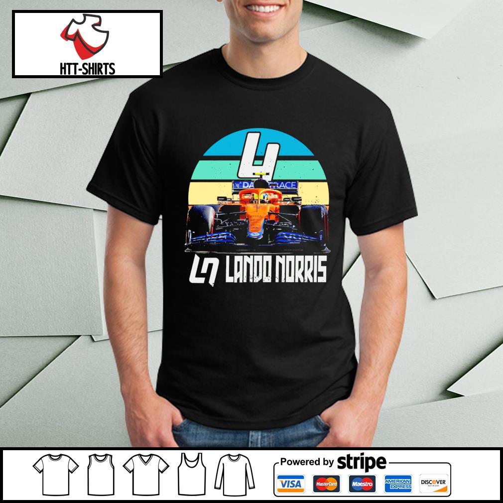 Lando Norris f1 vintage shirt