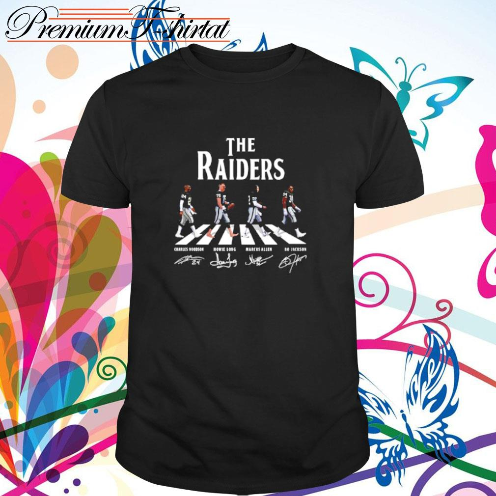 Abbey Road The Raiders signatures shirt