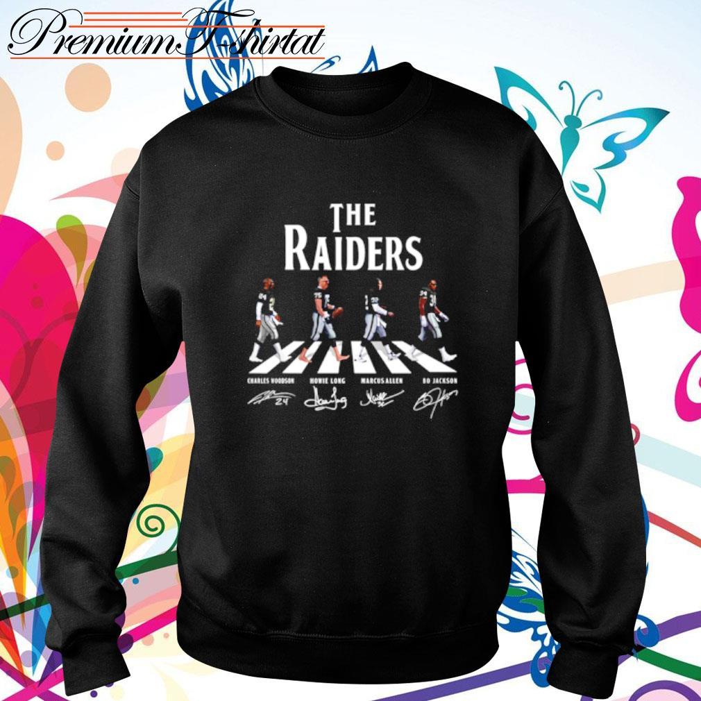 Abbey Road The Raiders signatures s sweater