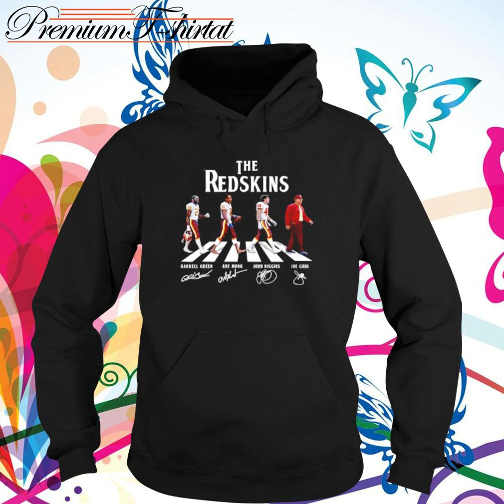 Abbey Road The Redskins signatures s hoodie