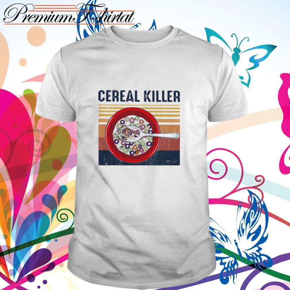 Cereal killer vintage shirt