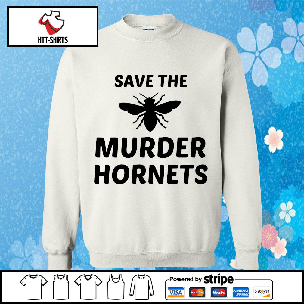 Bee Save the murder hornets s sweater