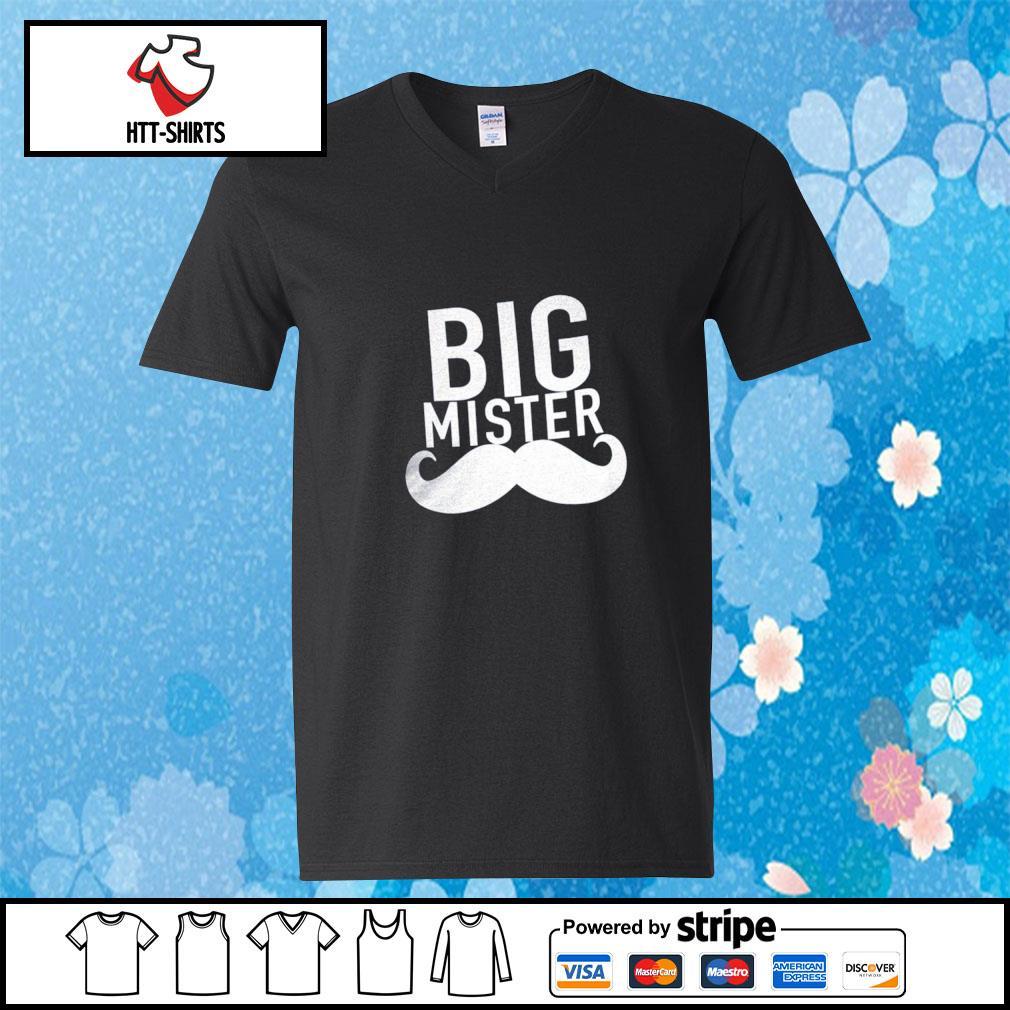 Big Mister s v-neck-t-shirt