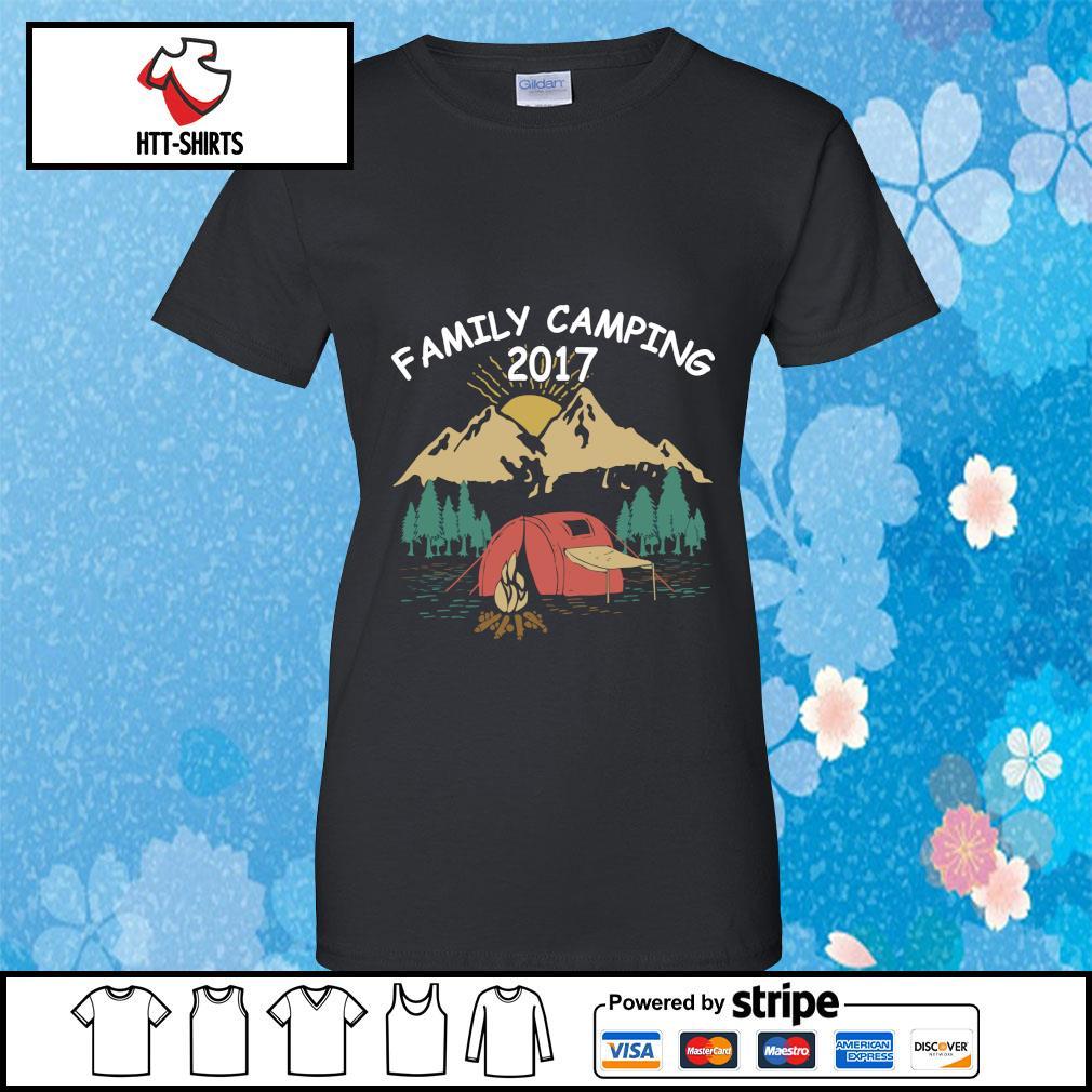 Family Camping Shirts 2017 Funny Camping s ladies-tee