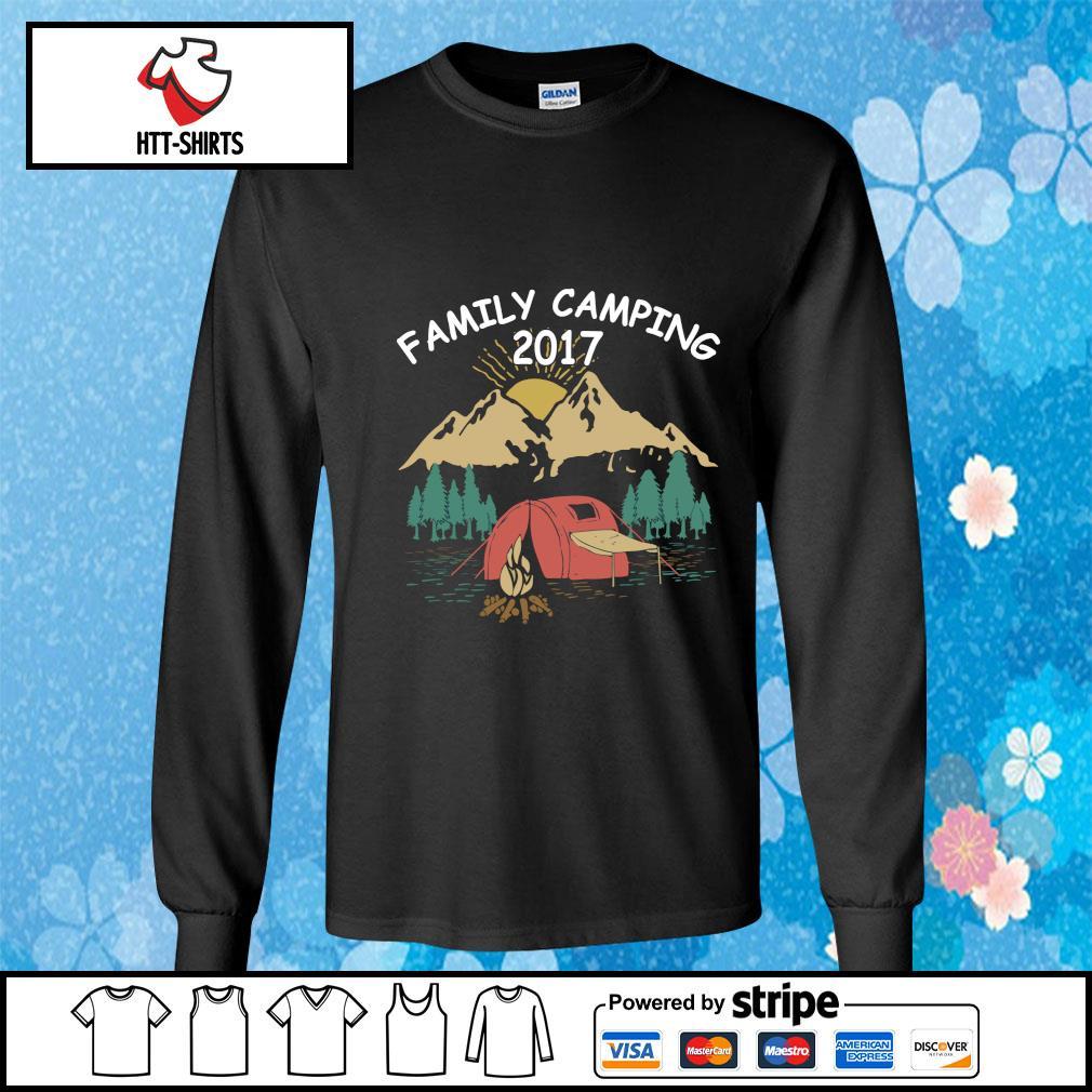 Family Camping Shirts 2017 Funny Camping s longsleeve-tee