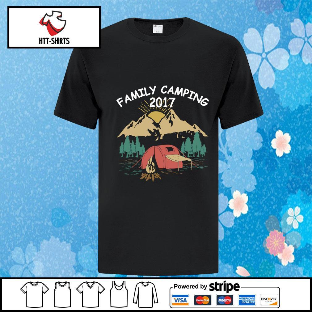 Family Camping Shirts 2017 Funny Camping shirt