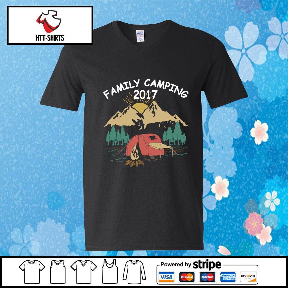 Family Camping Shirts 2017 Funny Camping s v-neck-t-shirt
