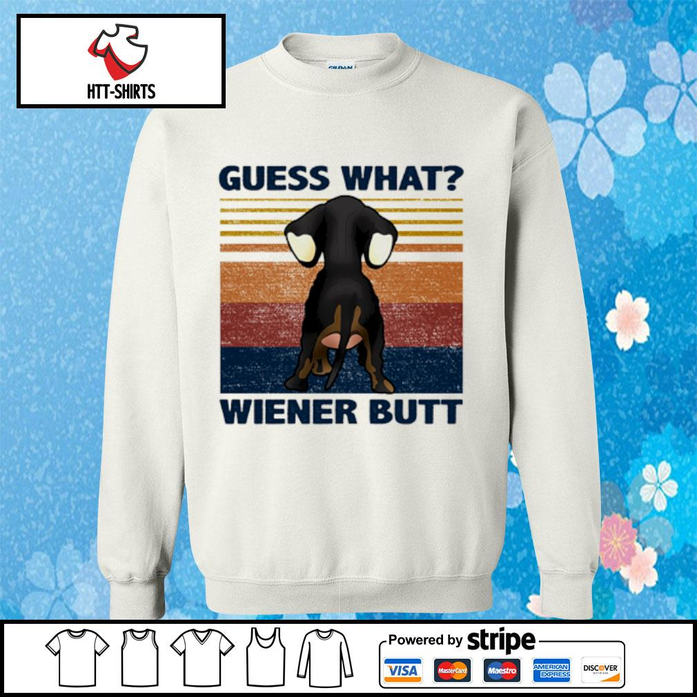 Guess what wiener butt vintage s sweater