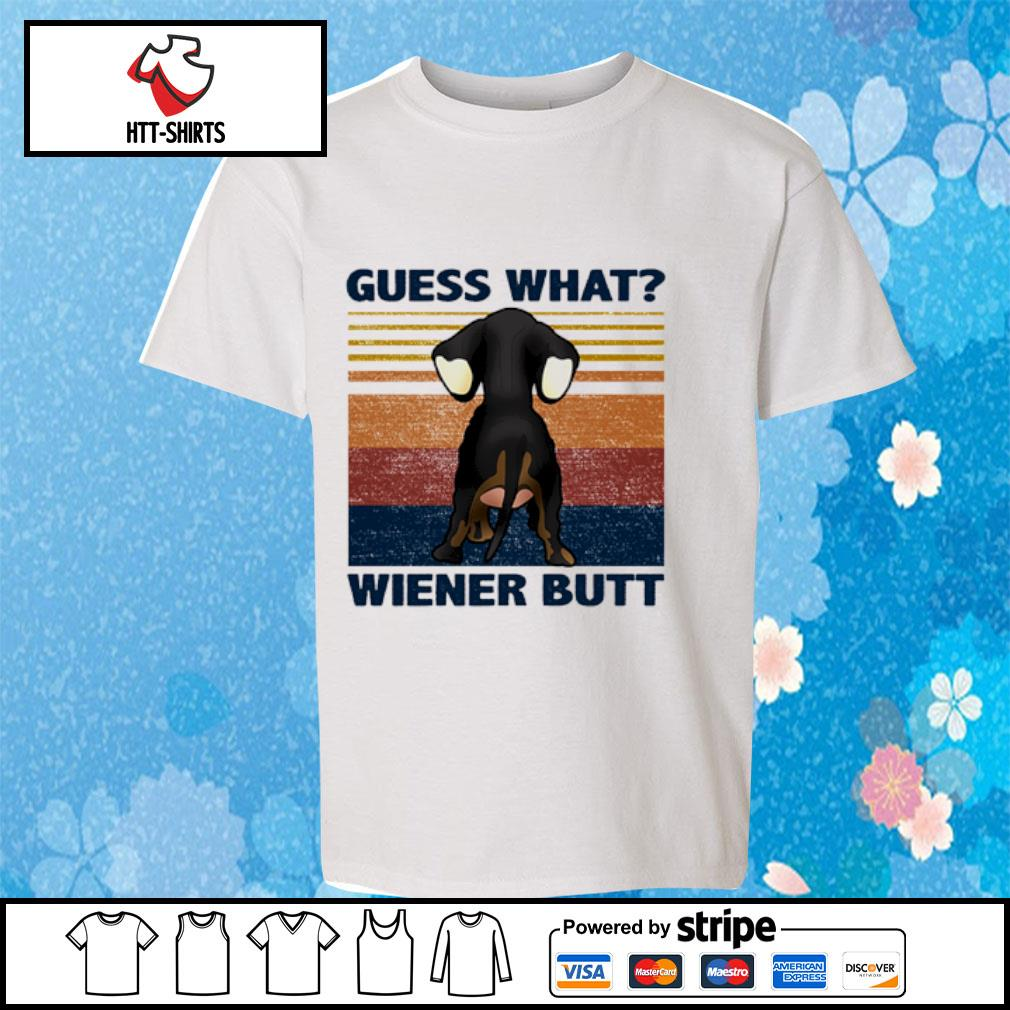 Guess what wiener butt vintage s youth-tee