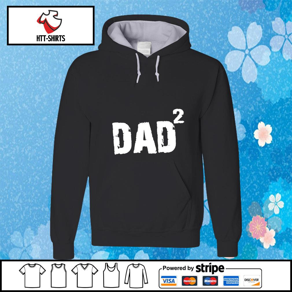 New Dad Gift DAD 2 s hoodie