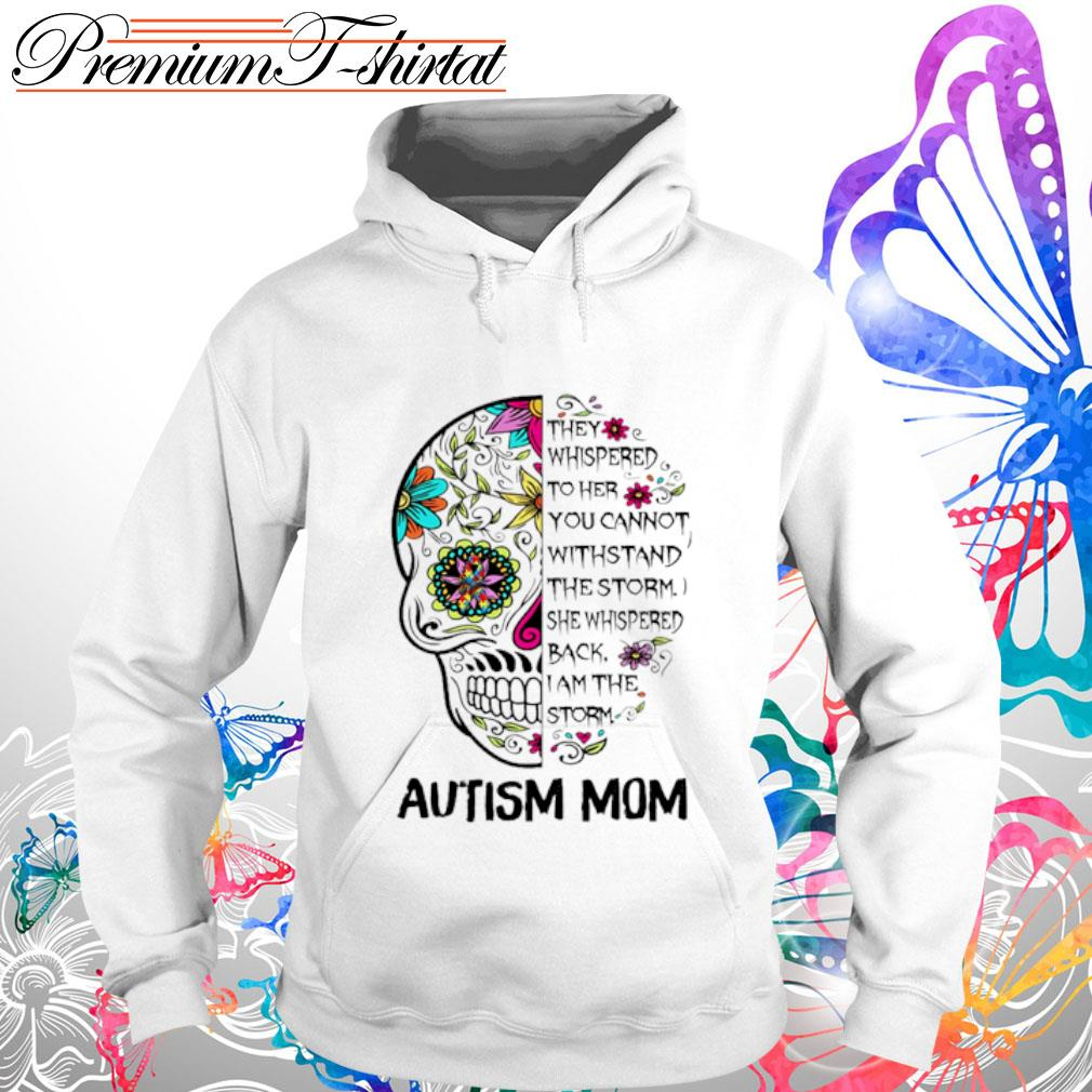 Sugar Skull Diabetes Awareness They Whispered to her you cannot withstand the storm s hoodie