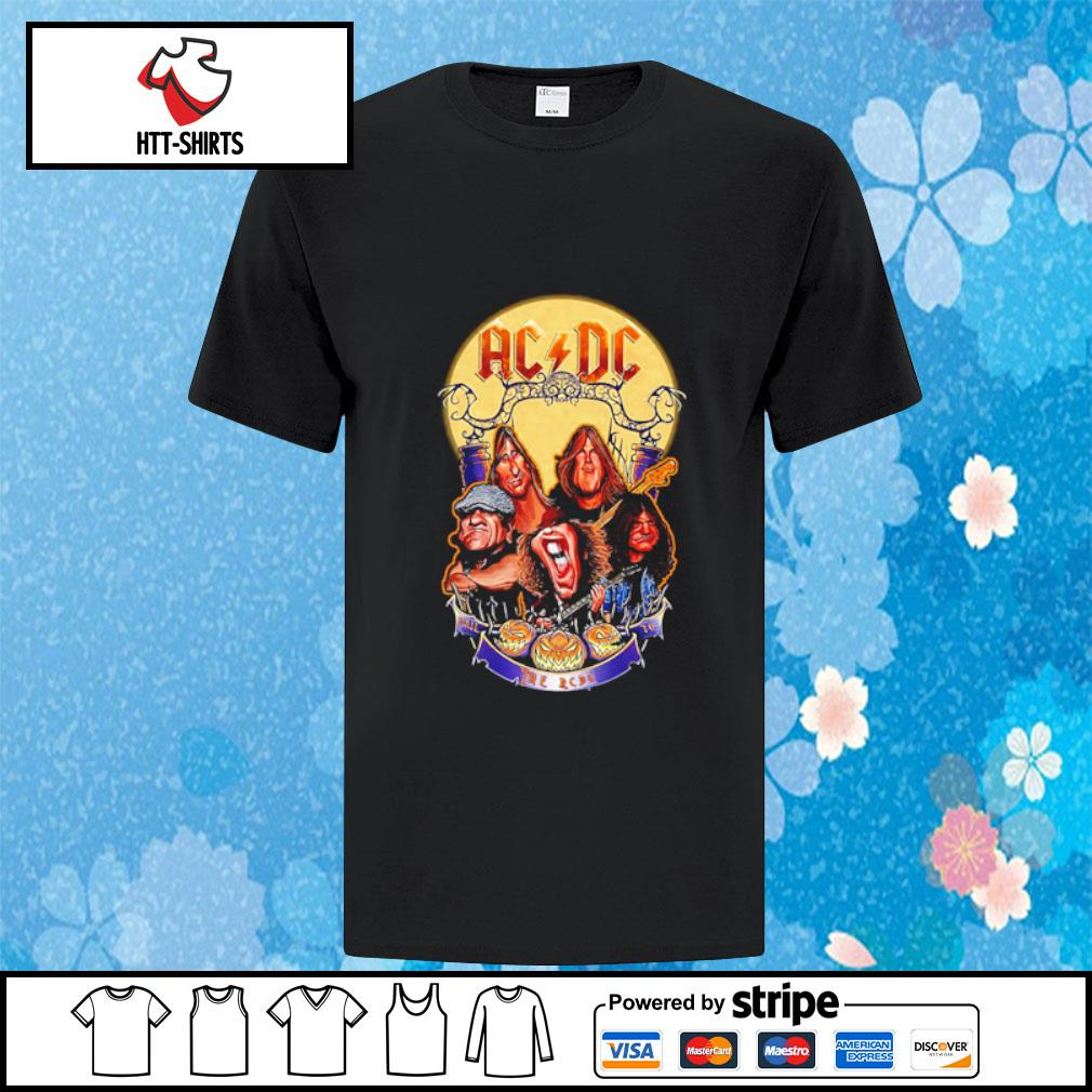 ACDC hard rock band Hail to the ACDC Halloween shirt