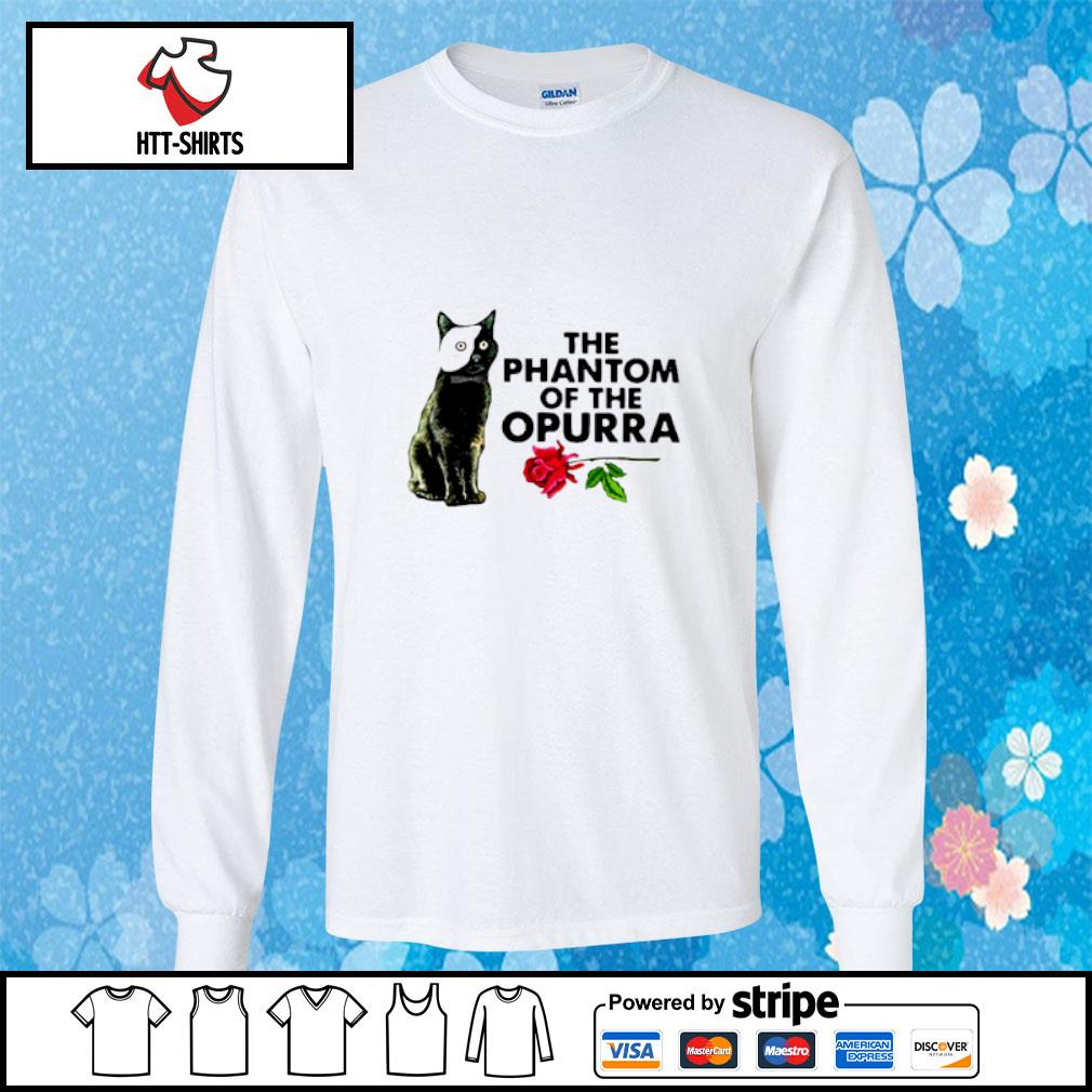 Cat The Phantom Of The Opurra Shirt longsleeve-tee