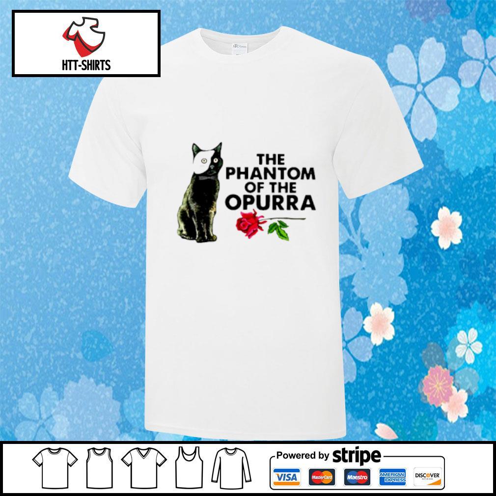 Cat The Phantom Of The Opurra Shirt
