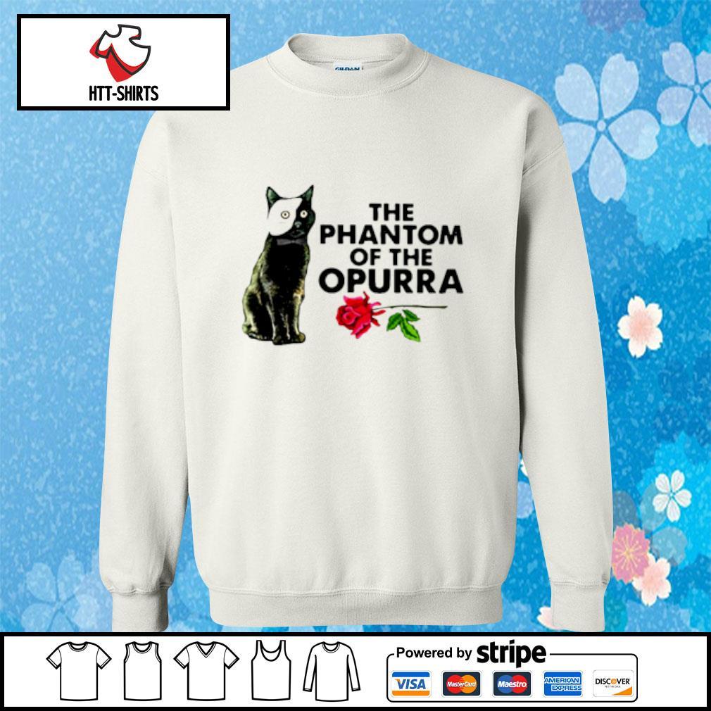 Cat The Phantom Of The Opurra Shirt sweater