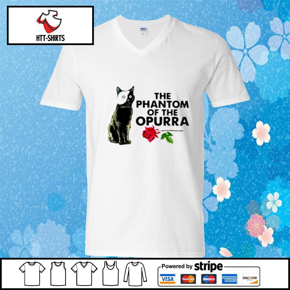 Cat The Phantom Of The Opurra Shirt v-neck-t-shirt