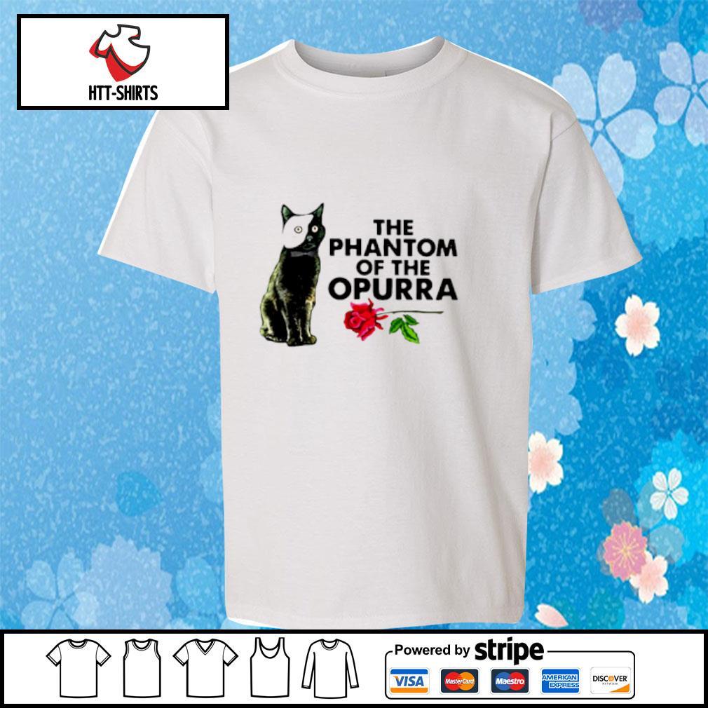 Cat The Phantom Of The Opurra Shirt youth-tee