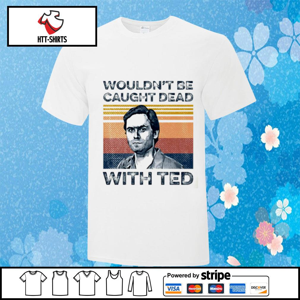 Ted Bundy wouldn't be caught dead with red vintage shirt