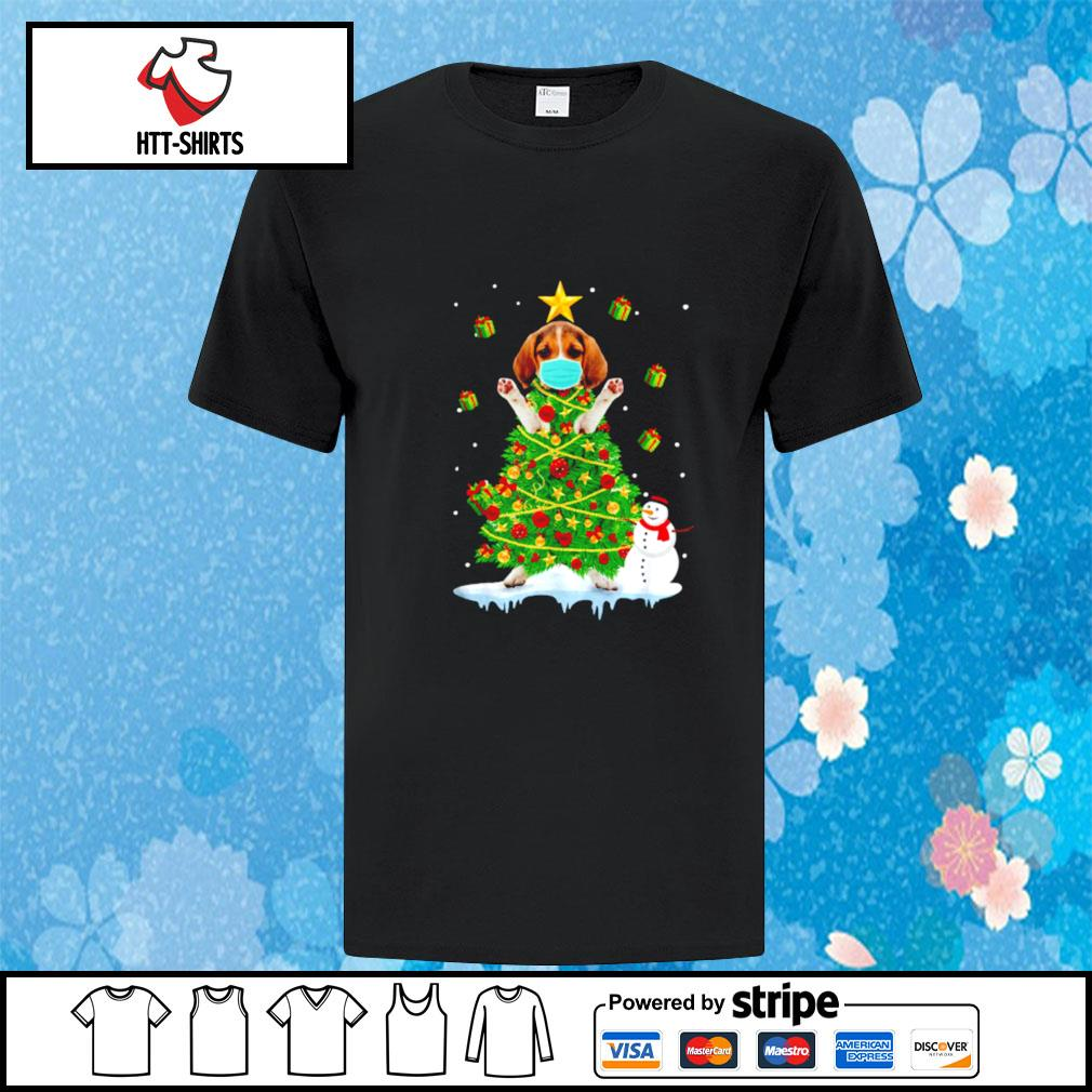 Beagle Christmas Tree Ornament Decor shirt