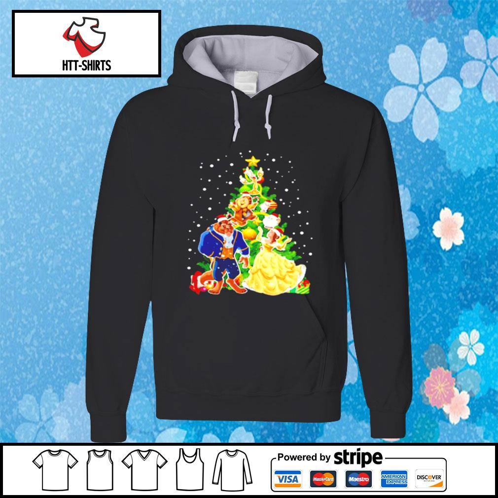 Beauty And The Beast Christmas Tree s hoodie