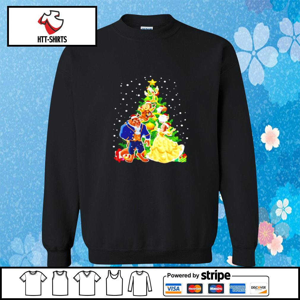 Beauty And The Beast Christmas Tree s sweater