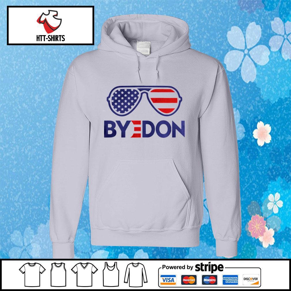Byedon Funny Joe Biden Wins 2020 Election Sunglasses American Flag s hoodie