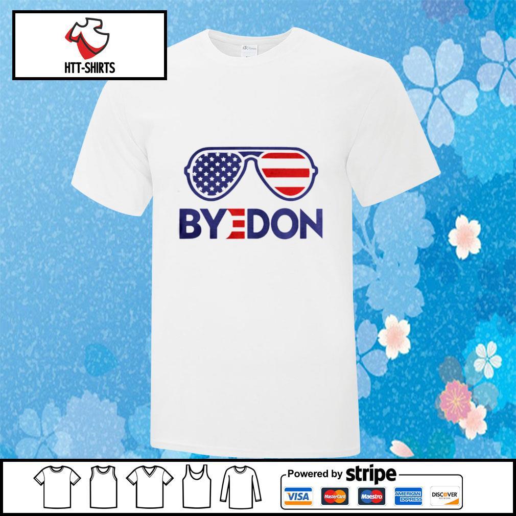 Byedon Funny Joe Biden Wins 2020 Election Sunglasses American Flag shirt