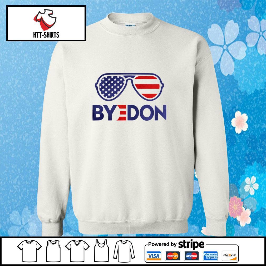 Byedon Funny Joe Biden Wins 2020 Election Sunglasses American Flag s sweater