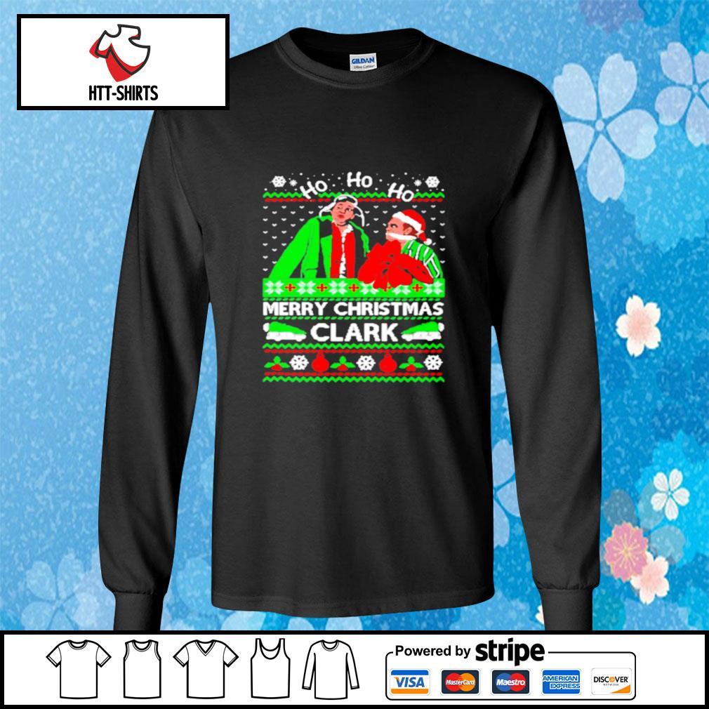 Cousin eddie merry christmas clark ugly s longsleeve-tee