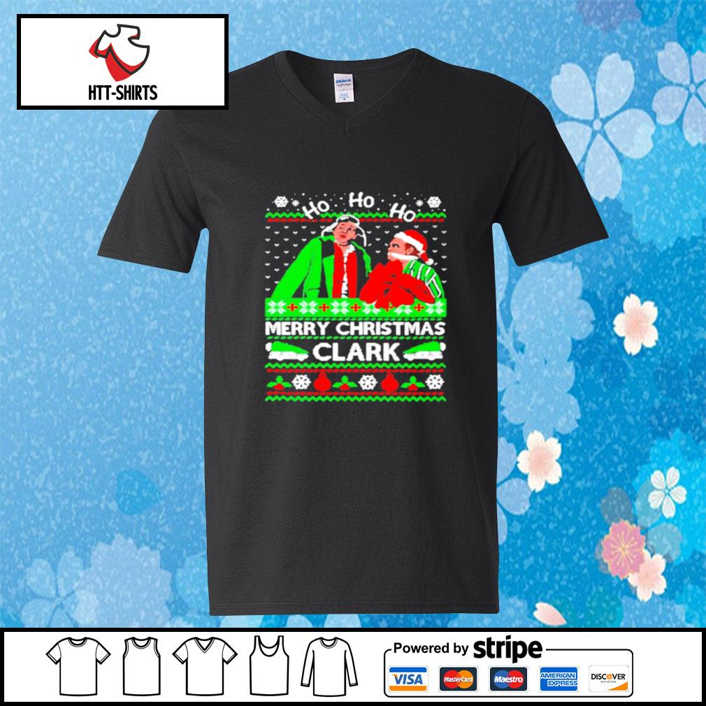Cousin eddie merry christmas clark ugly s v-neck-t-shirt