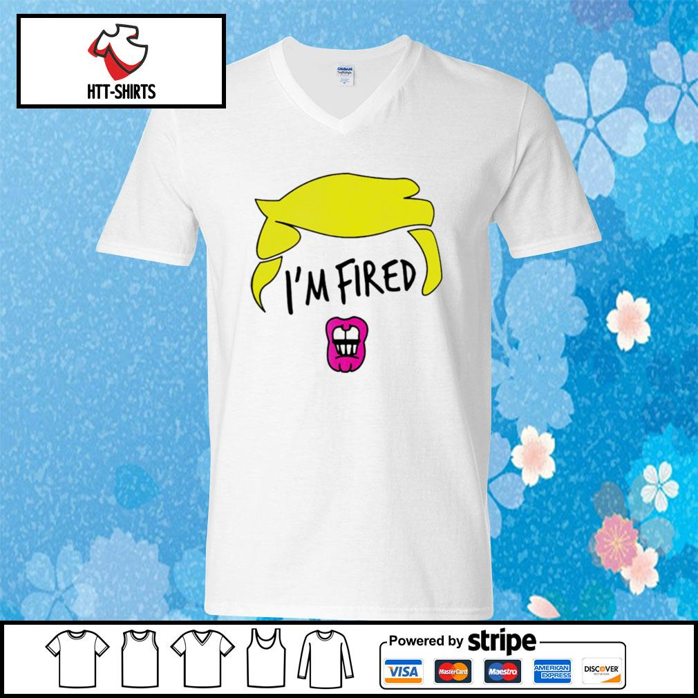 Im Fired Byedon 46th President s v-neck-t-shirt