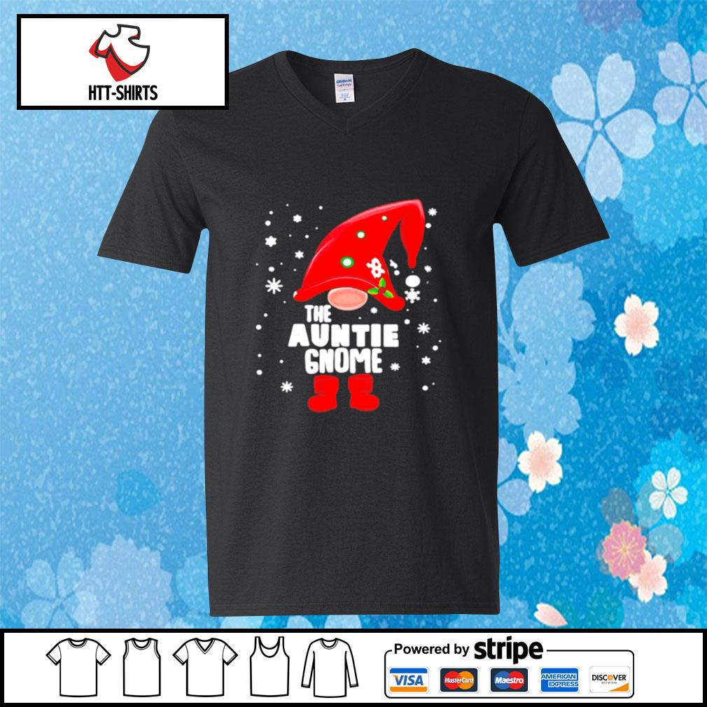 The Auntie Gnome Christmas s v-neck-t-shirt