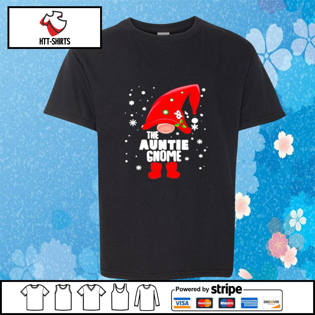 The Auntie Gnome Christmas s youth-tee